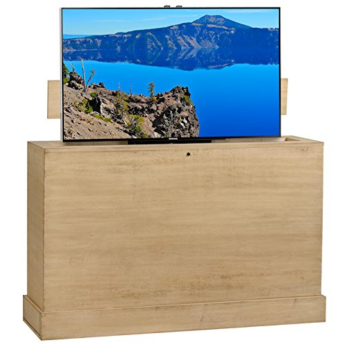 - TVLiftCabinet, Inc Azura 360 Degree Swivel in Sand Finish TV Lift Cabinet