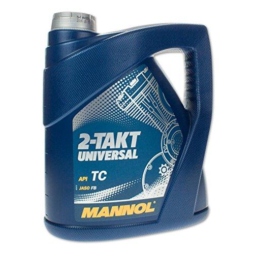 MANNOL 2-Takt Universal API TC Motorenöl, 4 Liter