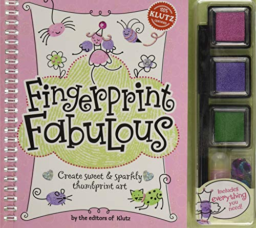 Klutz Fingerprint Fabulous Book Kit