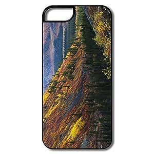 Amazing Design Mountain Slopes Autumn IPhone 5/5s Case For Birthday Gift