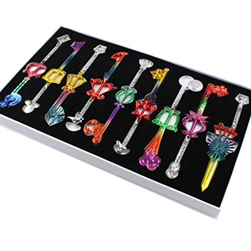 Kingdom Hearts Halloween Town Gif - Kingdom Hearts Sora Keyblade Keychain Set