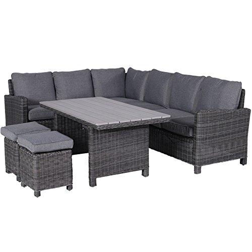 garden impressions lounge dinner set links 5 teilige poly rattan dining gruppe bogota ess. Black Bedroom Furniture Sets. Home Design Ideas