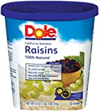 Dole Raisin Seedless, 18 Ounce Canister