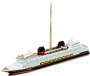 Disney Cruise Line Fantasy Ship Ornament
