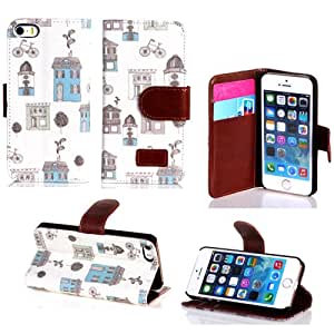 leather iphone 4 case,Gotida 4S-G008 Luxury Fashion PU Leather Magnet Wallet Creadit Card Holder Flip Case Cover for Apple iPhone 4 4G 4S, iphone 4 case