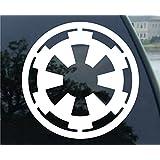 Star Wars Galactic Empire Vinyl Decal - White Window Sticker