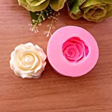 Rose Flower Silicone Molds Candy Chocolate Cake Baking Tools Mold Kitchen Accessories Decorations Bakeware