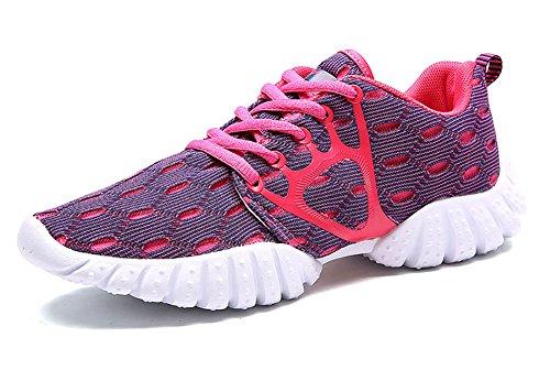 No.66 Uomo Donna Casual Da Passeggio Scarpe Da Corsa Amanti Della Moda Sneaker Blu Rosa