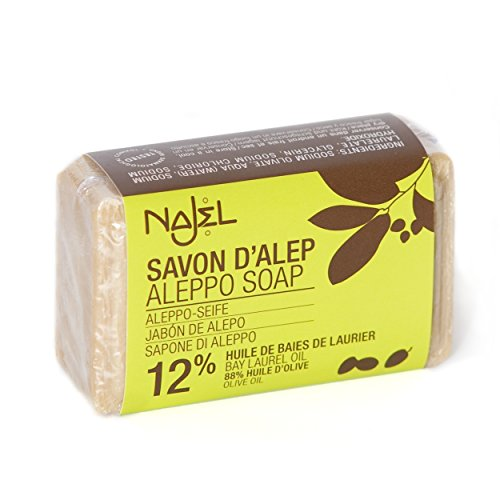 Najel Aleppo-Seife mit 12,5% Lorbeeröl, 100 g