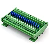 Chunzehui DIN Rail Mount 275V SIOV Metal Oxide Varistor Interface Module, 16 Channels Individual.