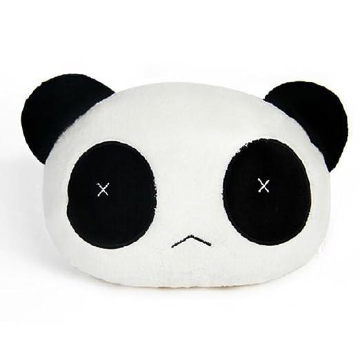 Panda linda de la felpa Auto cintura cojín de asiento cuello ...