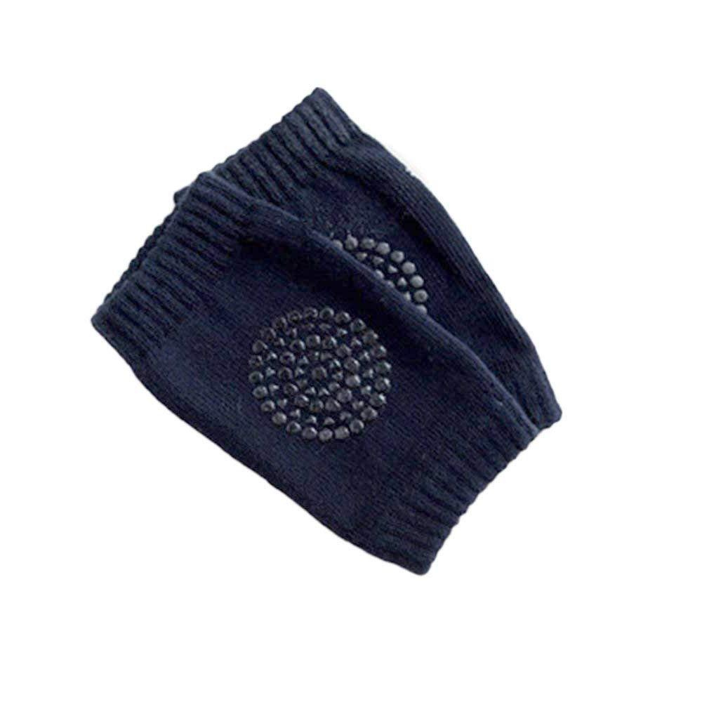 azul marino Ogquaton Almohadillas para la rodilla del beb/é Suave y transpirable de algod/ón para ni/ños peque/ños Rodillera adecuada para el beb/é que se arrastra a la rodilla protectora