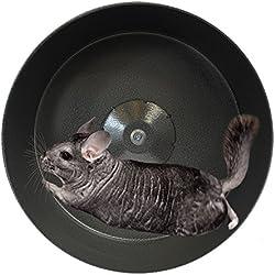 "Exotic Nutrition 15"" Chin-Sprint : All-Metal Chinchilla Wheel"