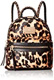 Juicy Couture Black Label Calf Hair Printed Mini Backbag with Gold Chain Detailing, Leopard