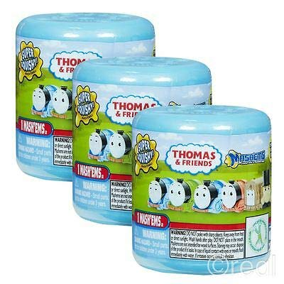 Thomas and Friends Mash'ems Blind Pack Capsule - 3 Mystery Packs Per Order