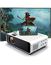 SOTEFE® Mini Video-Beamer - WiFi Video Beamer 1080P Full HD Video Projector For Smartphone iPhone/Samsung/Hauwei usw - Projektor Kompatibel mit TV Stick,TV-Box,HDMI,USB,TF/SD-Karte,VGA,AV-Audio