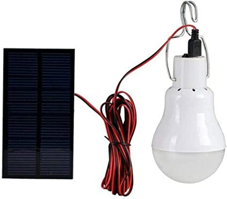 Solar Panel Power LED Lampe 20W Licht Tragbare Outdoor Energie Camping Zelt P3Z9