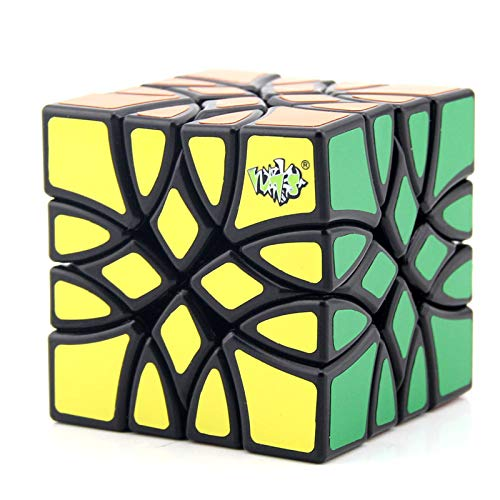 Alician Gifts for Lanlan Magic Cube Mosaic Sticker Smooth Abnormity Speed Cube Educational Toy