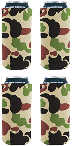 Blank Neoprene Collapsible 16 oz. Can Coolie (4, -