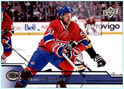 2016-17 Upper Deck #350 David Desharnais MONTREAL CANADIENS