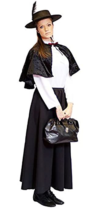 Victorian Kids Costumes & Shoes- Girls, Boys, Baby, Toddler  EDWARDIAN BOBBY (BLACK) Childs Fancy Dress Costume - All Ages $63.49 AT vintagedancer.com