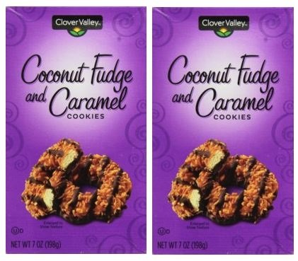 (Coconut Fudge and Caramel Cookies 7oz. Just Like Samoas - Pack of 2)