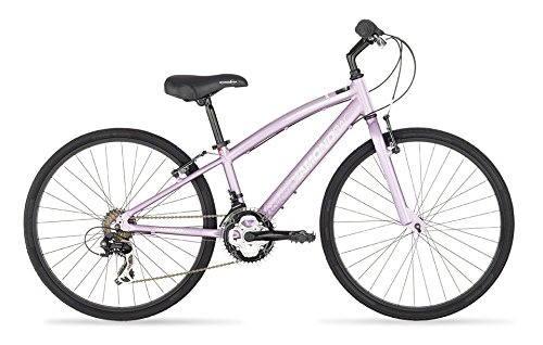 Diamondback Bicycles 2015 Clarity 24 Complete Children's Performance Hybrid Bike, 24-Inch wheels/One Size, Pink Diamondback