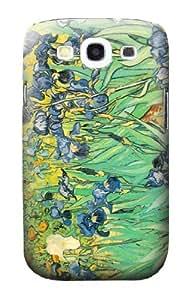 S0210 Van Gogh Irises Case Cover for Samsung Galaxy S3