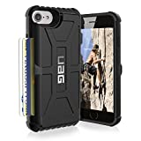 urban armor gear iphone 4 - UAG iPhone 8 / iPhone 7 / iPhone 6s [4.7-inch screen] Trooper Feather-Light Rugged Card Case [BLACK] Military Drop Tested iPhone Case