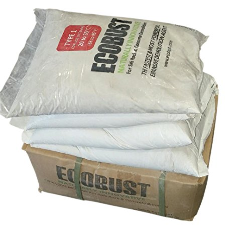 Ecobust USA EB144 TYPE 1 Expansive Mortar (Patio Breaking Cement)