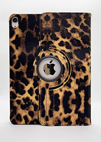 iPad Pro 11 Case 2018 (New Model), LiViTech(TM) Leopard Design Series 360 Degree Rotating PU Leather Auto Sleep/Wake Stand Function for iPad Pro 11 Inch Case Cover 2018 Release ()