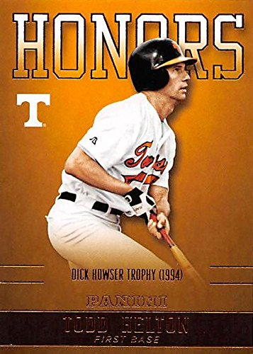 (Todd Helton baseball card (Tennessee Volunteers, Dick Howser Trophy 1994) 2016 Panini Team Honors Collection #TH-UT)