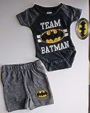 Team Batman, Baby Boy 2-Piece Set