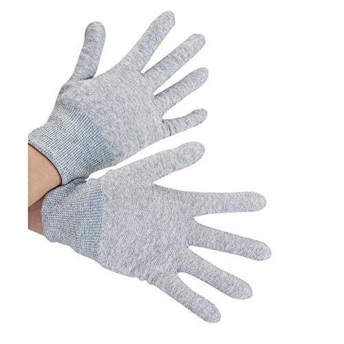 VSGO DDG-2 1 Pair Nylon Anti-Static Carbon Fiber Touch Screen Camera Cleaning Gloves, Grey