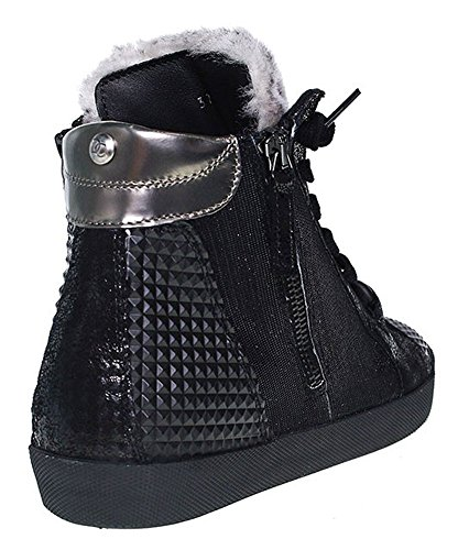 Donna Carolina | HighTop Sneaker | Tess Dark - schwarz Schwarz