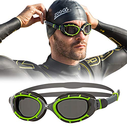 Zoggs Predator Flex 2.0 Reactor Swimming Goggles Swimming Goggles No Leaking Anti Fog UV Protection Triathlon