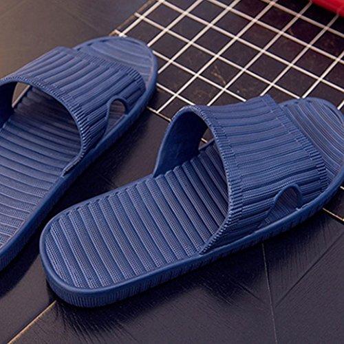 Uomo Estate Englon Antiscivolo Infradito Scarpe Sandali Infradito Pantofola Pantofola Marina Blu
