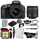 Nikon D5600 DSLR Camera with 18-55mm Lens (International Model) Complete Advanced Bundle