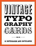 Vintage Typography Notecards, Princeton Architectural Press, 1616891467