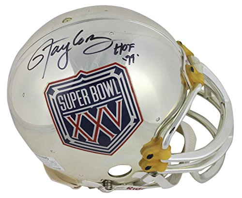 "Giants Lawrence Taylor""HOF 99"" Signed SB XXV Full Size Proline Helmet BAS - Beckett Authentication - Autographed NFL Helmets"