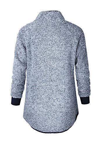 Casual Hiver Pulls Femmes Bolawoo Sweatshirt Blau Automne Tissé Sans Pullover Mo Hauts EtzzIw1qn