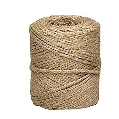 Lehigh Group 530X Jute Twine Heavy Duty twine 190': Garden & Outdoor