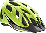 Lazer Cyclone Helmet: Flash Yellow MD