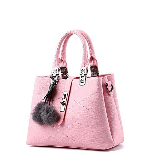 borsa Bag Donna pelle Spalla Handbag AVERIL Borsa mano rosa a Shoulder G a Borse Bag Tote wXqfUCSn