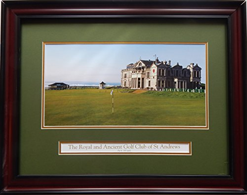 18th Hole Framed (St. Andrew's 18th Hole)