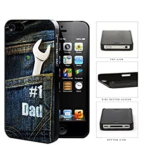 Father's Day #1 Dad Handyman Hard Snap On cell Phone Case Cover iPhone 4 4s