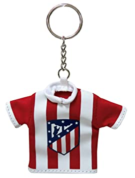 Atletico DE Madrid Llavero Mini Camiseta