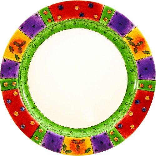 Sango Sweet Shoppe Christmas Dinner Plates, Set of 4