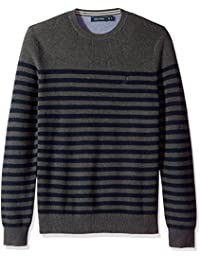 Men's Long Sleeve Classic Bretton Stripe Sweater