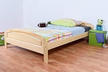 Individual/cama madera maciza de pino de madera 87, con ...